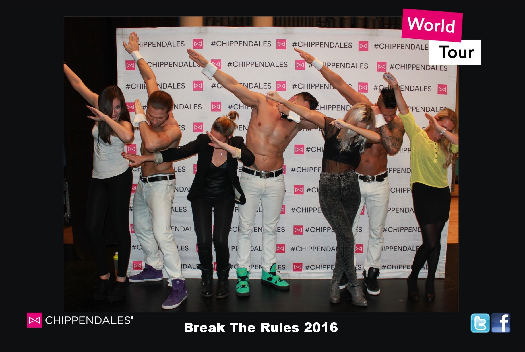 Chippendales Break The Rules Tour 2016