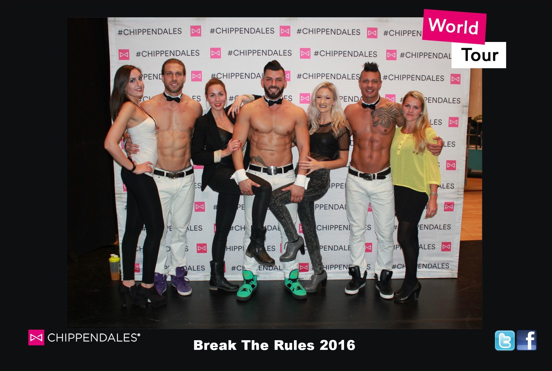 The Chippendales Break The Rules Tour 2016
