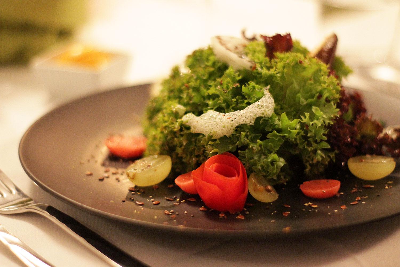 Vorspeise: Herbstlicher Salat