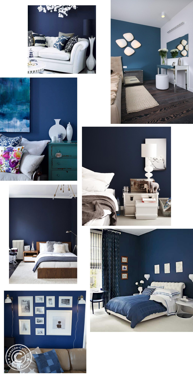 wandfarbe-blau // Pinterest